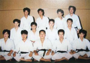 中学時代の柔道部